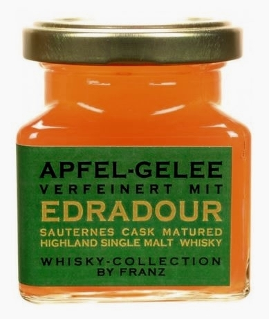 Whisky Collection - Apfel-Gelee mit Edradour Sauternes Cask