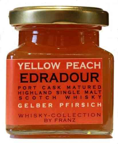 Whisky Collection - Gelber Pfirsich mit Edradour Port Cask